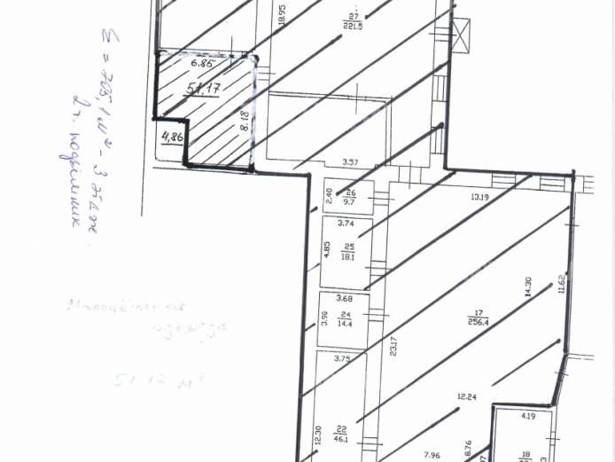 Аренда складских помещений, Ярославское шоссе, Осташково, Московская область588 м2, фото №6