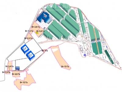 Аренда открытой площадки, Каширское шоссе, Домодедово, Московская область, площадь 47000 м2, деление от 47000 м2  фото №9