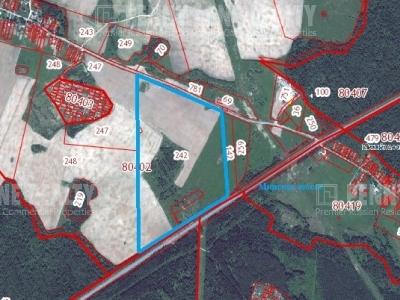 Продажа земли промышленного назначения, Можайское шоссе, Отяково, Московская область, площадь 200 соток, деление от 200 м2  фото №1