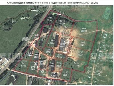 Продажа земли промышленного назначения, Ленинградское шоссе, Кочугино, Московская область, площадь 64 соток, деление от 64 м2  фото №11