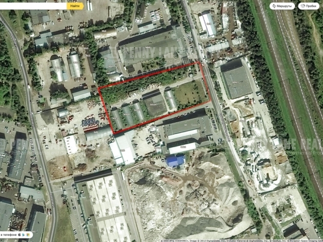 Продажа земли промышленного назначения, Варшавское шоссе, Москва, площадь 113 соток, фото №2