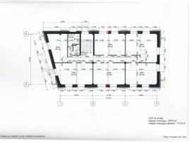 Лот № 1033, Аренда офисов в ЦАО - План