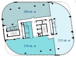 Лот № 1148, БЦ ЭКО, Аренда офисов в ВАО - План