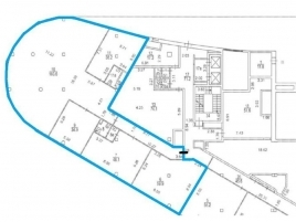 Лот № 1168, Бизнес-центр Линкор, Аренда офисов в СЗАО - План