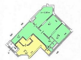 Лот № 1203, Золотые Ключи, Аренда офисов в ЮЗАО - План