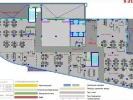 Лот № 12357, Бизнес центр РТС, Аренда офисов в ЮАО - План