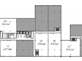 Лот № 1298, Бизнес-центр West Plaza, Продажа офисов в ЮЗАО - План
