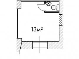 Лот № 13375, Продажа офисов в ЦАО - План