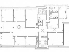 Лот № 1371, Аренда офисов в ЦАО - План
