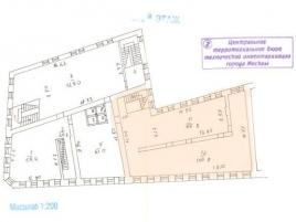 Лот № 14155, Торговый центр на Белорусской, Продажа офисов в ЦАО - План