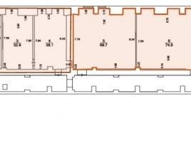 Лот № 1436, Аренда офисов в ЦАО - План