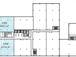 Лот № 14553, Бизнес-центр «West Park», Аренда офисов в ЗАО - План