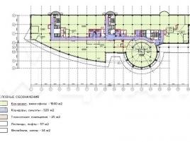 Лот № 14724, Бизнес-Парк Калибр, Аренда офисов в СВАО - План