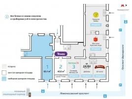 Лот № 14739, ПСН на Ломоносовском, Продажа офисов в ЮЗАО - План