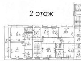 Лот № 1497, Продажа офисов в ЦАО - План