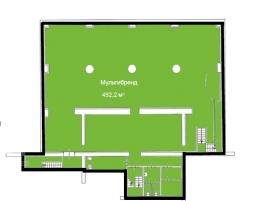 Лот № 15331, Продажа офисов в ВАО - План