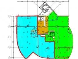 Лот № 1550, офисный комплекс «ARCUS II», Аренда офисов в САО - План