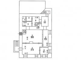 Лот № 15800, ОСЗ, Аренда офисов в ЦАО - План