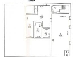 Лот № 15814, Административное здание, Продажа офисов в ЮАО - План