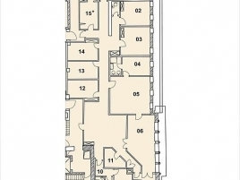 Лот № 1619, Бизнес-центр Ян-Рон, Аренда офисов в ЦАО - План