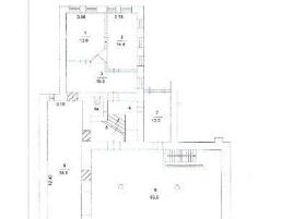 Лот № 16322, ПСН в Особняке, Продажа офисов в ЦАО - План