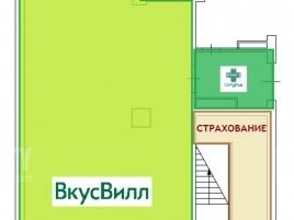 Лот № 16365, ОСЗ, Продажа офисов в СЗАО - План