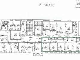 Лот № 1643, Аренда офисов в ЦАО - План