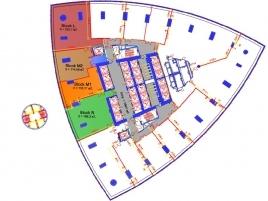 Лот № 1692, Москва-сити, Башня Федерация (Восток), Продажа офисов в ЦАО - План