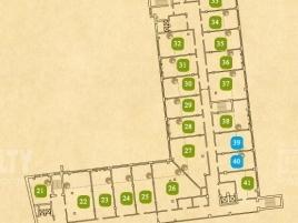 Лот № 1694, Бизнес-центр «Loft Post», Продажа офисов в ВАО - План