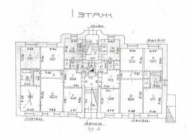 Лот № 1718, Продажа офисов в ЦАО - План
