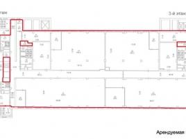 Лот № 1736, «AFI на Павелецкой», Аренда офисов в ЮАО - План