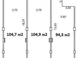 Лот № 17717, МФК LOFTEC, Продажа офисов в ЦАО - План
