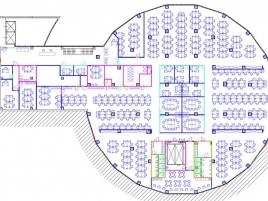 Лот № 1854, БЦ Omega Plaza, Продажа офисов в ЮАО - План