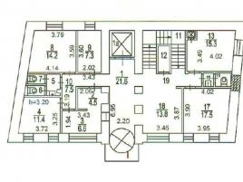 Лот № 1901, Продажа офисов в ЦАО - План