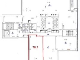 Лот № 1953, БЦ Neo Geo, Продажа офисов в ЮЗАО - План