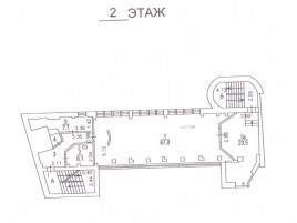 Лот № 2035, Аренда офисов в ЦАО - План