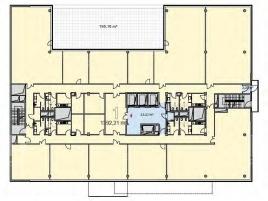 Лот № 2055, Аренда офисов в ЮЗАО - План