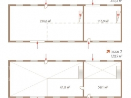 Лот № 2126, Бизнес-парк «Технолофт», Продажа офисов в ЮВАО - План