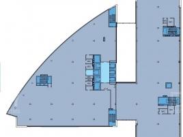 Лот № 2195, Дельта Плаза, Аренда офисов в ЦАО - План