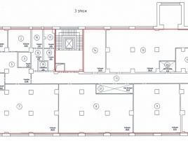 Лот № 2274, Бизнес-центр Переведеновский, Аренда офисов в ЦАО - План