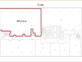 Лот № 2311, БЦ Аэродом, Продажа офисов в САО - План