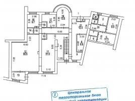 Лот № 2337, Продажа офисов в ЦАО - План