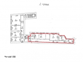 Лот № 2379, Аренда офисов в ЦАО - План