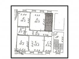 Лот № 2390, Особняк на Цветном бульваре, Продажа офисов в ЦАО - План