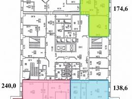 Лот № 2406, БЦ Hi-Tec House, Аренда офисов в ЗАО - План