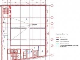 Лот № 2424, БЦ АТВ, Аренда офисов в ЦАО - План