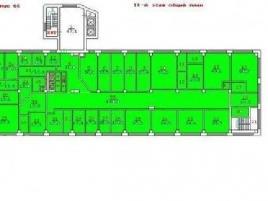 Лот № 2466, БЦ Балтийский, Продажа офисов в САО - План