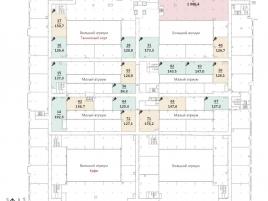 Лот № 2571, БЦ Neo Geo, Продажа офисов в ЮЗАО - План