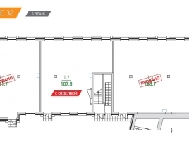 Лот № 2586, Парк Мира, Продажа офисов в СВАО - План