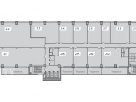 Лот № 2667, БЦ Хамелеон, Аренда офисов в ЮВАО - План